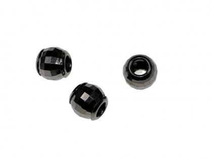 Margele rotunde cu fatete argint 925 D 10 mm [0]