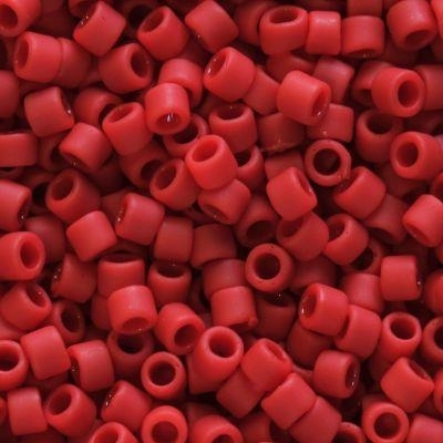 Margele Toho Treasure 1,8 mm opaque frosted pepper red TT 01 45F [0]