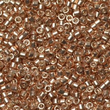 Miyuki delica 11/0 - galvanized apricot goldKR-MIDE11-411 [0]