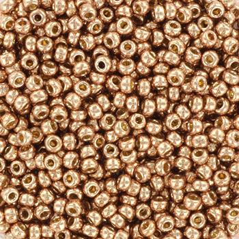 Miyuki seed beads 11/0 - duracoat galvanized soft champagneKR-MISE11-5104 [0]
