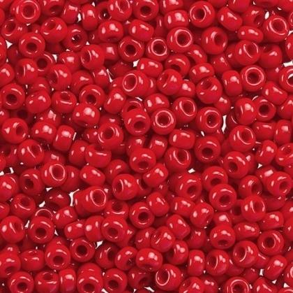 Margele Miyuki Rocailles 8/0 Opaque dark red 0408 [0]