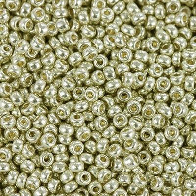 Margele Miyuki Rocailles 11/0 duracoat galvanized silver  4201 0
