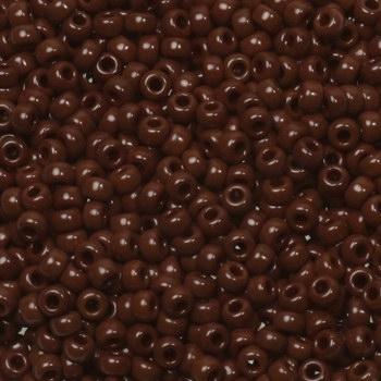 Margele Miyuki Rocailles 11/0 opaque red brown KRMISE11419 0
