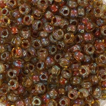 Margele Miyuki Rocailles 11/0 opaque vermilion red KRMISE11407 [0]