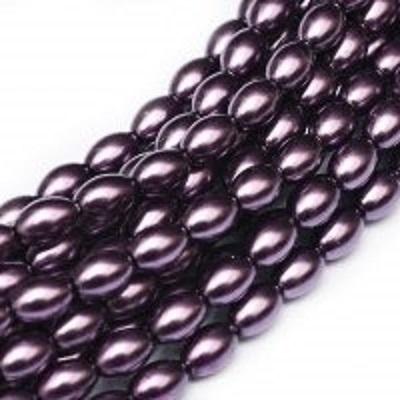 Perle cehesti  Rizo 6x4 mm Violet [0]