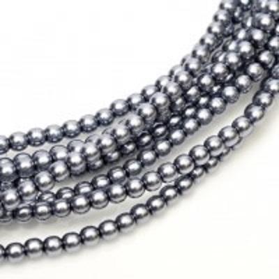 Perle cehesti  shiny 4 mm Grey 0