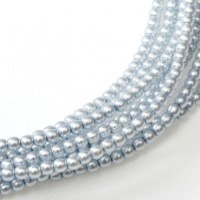 Perle cehesti  shiny 4 mm Powder Blue [0]