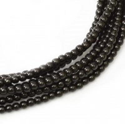 Perle cehesti  shiny 8 mm Black [0]