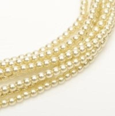 Perle cehesti  shiny 8 mm Old Lace 0