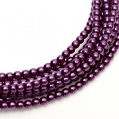 Perle cehesti  shiny 8 mm Purple [0]