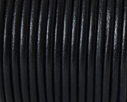 snur-rotund-piele-negru-4-mm 0