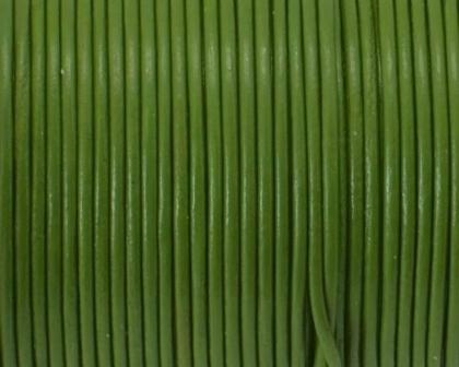 snur-rotund-piele-verde-fistic-1-mm 0