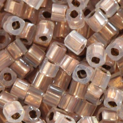 Margele Toho Cube 1.5 mm copper lined alabaster TC 01 741 0