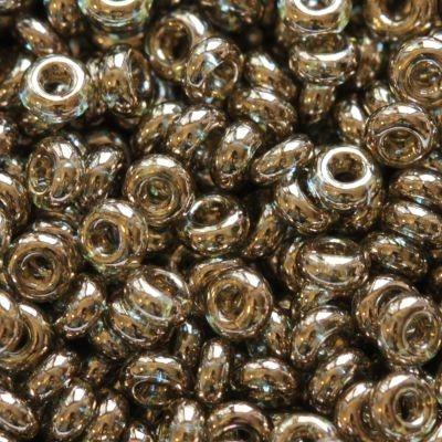 Margele Toho Demi Round 2 mm gold lustered montana blue TN 11 204 0
