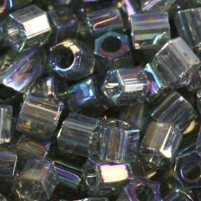 Margele Toho Hex 3 mm transparent rainbow gray TH 08 176B [0]
