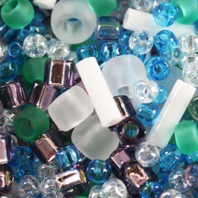Margele Toho mix culoare alb/verde/albastru/violet  fuji  TX 01 3229 0