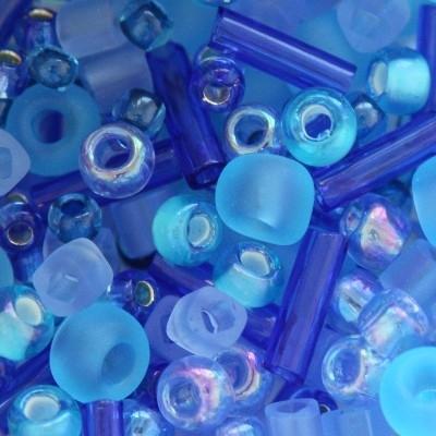 Margele Toho mix culoare albastra  amamizu  TX 01 3230 [0]