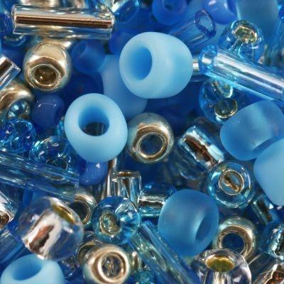 Margele Toho mix culoare albastru/argintiu  aozora  TX 01 3223 [0]