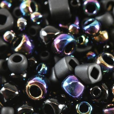 Margele Toho mix culoare negru  borakku  TX 01 3210 0