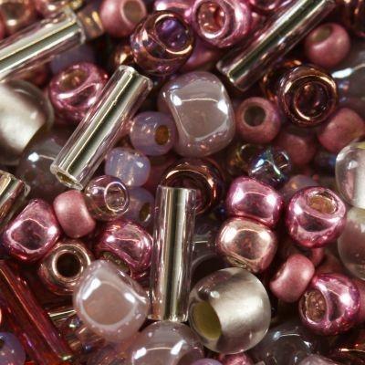 Margele Toho mix culoare roz  hime  TX 01 3215 0