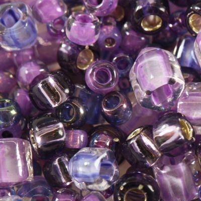 Margele Toho mix culoare violet/verde  kawaii  TX 01 3207 0