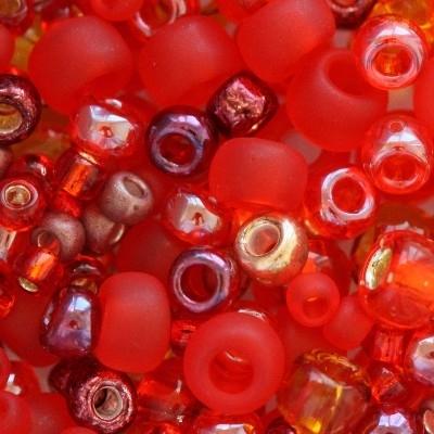 Margele Toho mix culoarea rosie TX 01 3208 0
