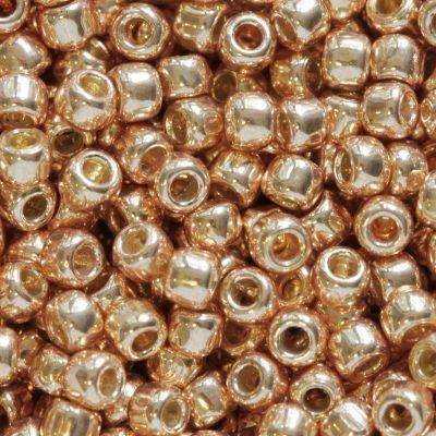 Margele Toho Round 11/0 permafinish galvanized rose gold TR 11 PF551 0