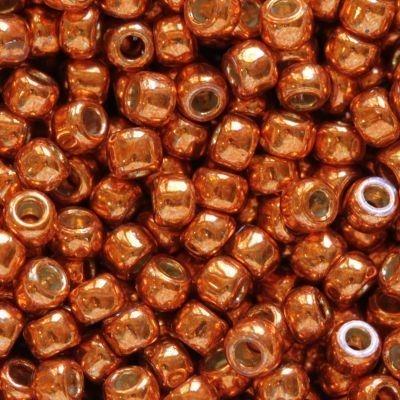 Margele Toho Round 11/0 permafinish galvanized saffron TR 11 PF562 [0]