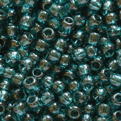 Margele Toho Round 11/0 transparent capri blue TR 11 7BD 0