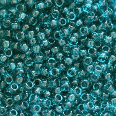 Margele Toho Round 15/0 transparent capri blue TR 15 7BD [0]