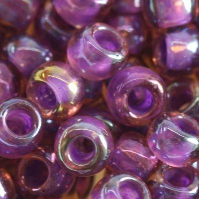 Margele Toho Round 6/0 inside color rainbow rosaline/opaque purple TR 06 928 [0]