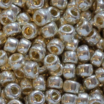 Margele Toho Round 8/0 galvanized aluminum 3 mm TR 08 558 0
