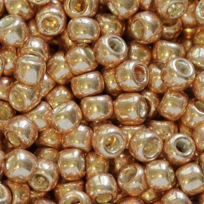 Margele Toho Round 8/0 galvanized rose gold TR 08 551 0