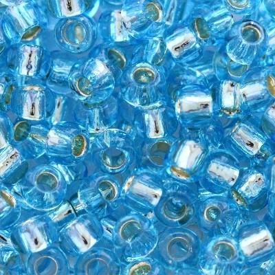 Margele Toho Round 8/0 silver lined aquamarine TR 08 23 [0]
