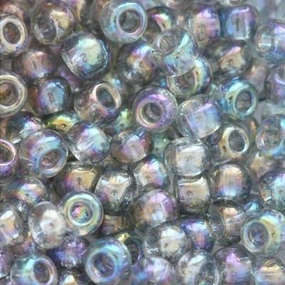 Margele Toho Round 8/0 trans rainbow black diamond TR 08 176 0