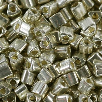 Margele Toho Triangle 2 mm galvanized aluminum TG 11 558 0