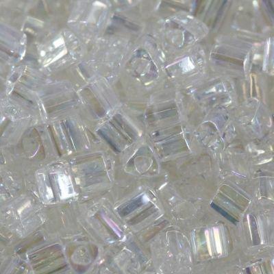 Margele Toho Triangle 2 mm trans rainbow crystal TG 11 161 0