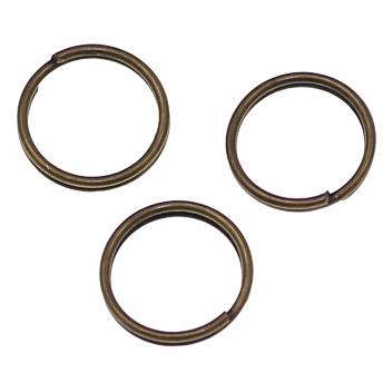 Zale duble bronz antichizat 9 mm 0