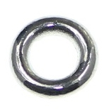 Distantier tub curbat placat cu argint L 2 cm [0]