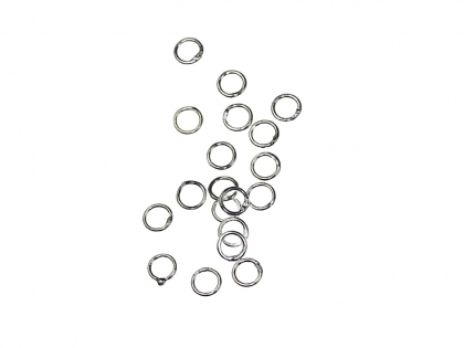 Zale inchise argint 925  D 5 mm grosimea 1 mm   0