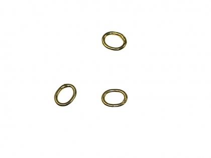 Baza cercei argint 925 placat cu aur galben D 3 mm [0]