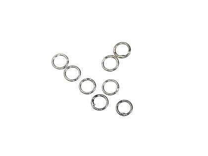 Zale inchise rotunde argint 925 D 4 mm grosimea 1 mm 0