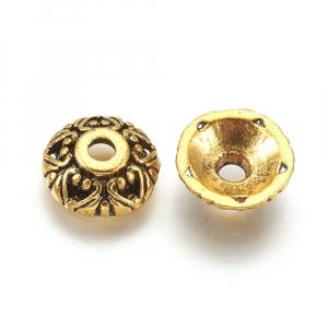 Capacele stil tibetan auriu antichizat1