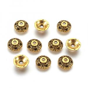 Capacele stil tibetan auriu antichizat0