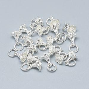 Charm floare clopotel din argint2