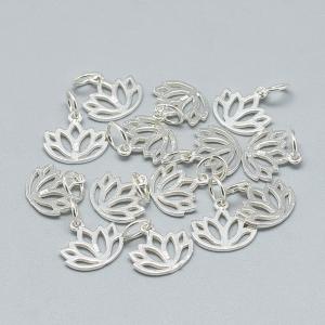 charm-floare-lotus-din-argint [0]