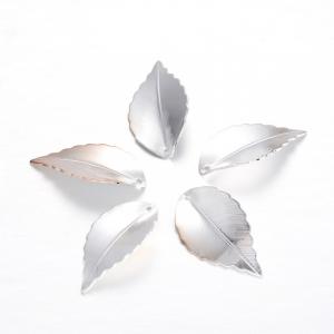 Frunze din alama argintii1