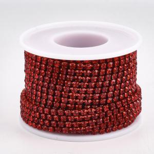 lant-cu-stras-rhinestone-rosu [2]