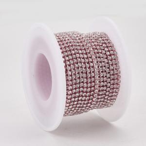 lant-cu-stras-rhinestone-roz [0]