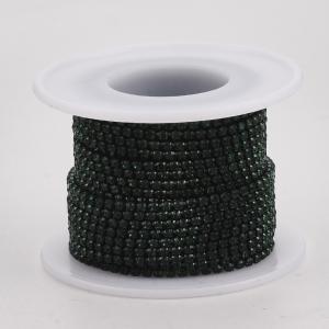 lant-cu-stras-rhinestone-verde-smarald [0]